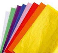 Hojas de papel de seda los 24