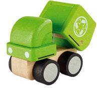 Camión de reciclaje diseño ecológico la unidad