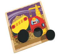 Puzzle los transportes camión la unidad