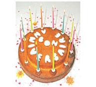 Molde creativo para pasteles princesa feliz cumpleaños la unidad