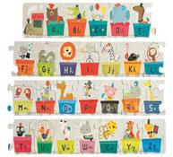 Puzzle gigante el tren alfabeto la unidad