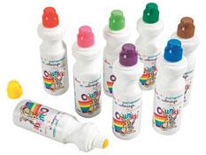 Aplicadores de gouache chunkie colores tropicales los 8