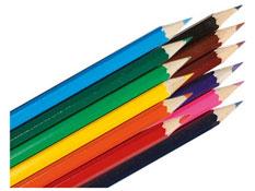 Lápices de color económicos lote de 12