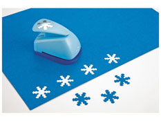 Troqueladora talla pequeña   copos de nieve la unidad