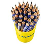 Lápices grafito ergonómicos los 36