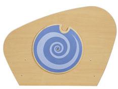 Barrera de separación fantazy disco en espiral la unidad