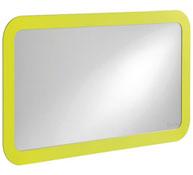 Espejo de color en vidrio seguro modelo grande la unidad