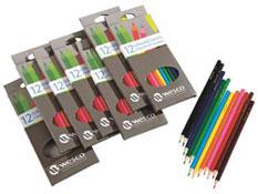 Lápices de color económicos lote de 84