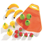 Alimentos tex'til cooking kit frutas el conjunto