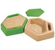 Arenero alveolo Kit  nº 2 - 2 cubetas grandes el conjunto