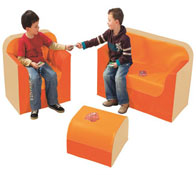 Kit club rincón sofá  altura 17 cm el conjunto