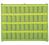 Organizador red  40 bolsillos para mueble altura: 81 cm la unidad