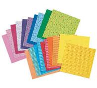 Hojas con dibujos para origami 60 g telas los 20