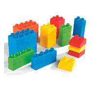 Construcción cubos soft  los ladrillos los 32