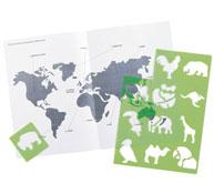 Plantillas educativas mini plantillas educativas los animales del mundo los 12