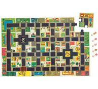 Puzzle gigante para suelo la ciudad la unidad