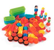 Juego de construcción bristle blocks 1 lote de 85 ladrillos - la familia los 85