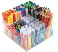 Maxi lote rotuladores y lápices para escuela infantil los 169