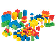 Maxi lote construcción soft cubos el conjunto