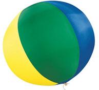 Balón gigante multicolor ø120 cm la unidad