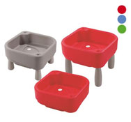 Maxi lote 3 mesas de actividades para agua y arena el conjunto