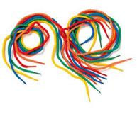 Cordones multicolores los 12