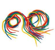 Cordones multicolores los 36