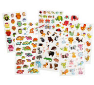 Animales gomets relieve 3d los 168