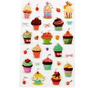 Cupcake gomets relieve 3d los 15