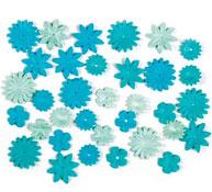 Flores de papel lote de 36