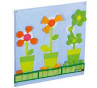 Las flores tapices murales de actividades baby artisticks largo: 48 cm. el conjunto