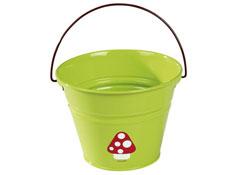 Herramientas de jardinería modelos pequeños cubo con asa la unidad