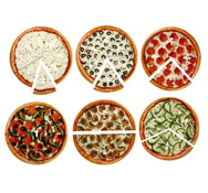 Pizza fracción magnética el conjunto