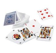 Juego de 54 cartas plásticas el juego