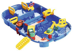 Circuito acuático portátil el conjunto