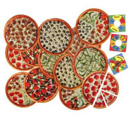 Pizza fracción el conjunto