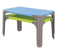 Mesa lou mesa rectangular pequeña la unidad