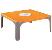 Mesa de actividades lou mesa cuadrada pequeña la unidad