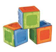 Maxi lote cubos de estimulación porta imágenes personalizables lote de 3