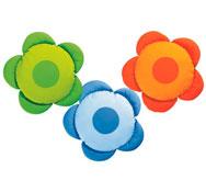 3 cojines flor los 3