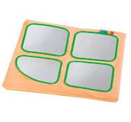 Babimódulos funda de recambio para 1/4 de cubo con espejos la unidad