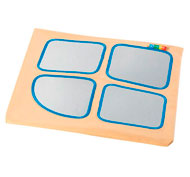 Babimódulos funda de recambio para 1/2 cubo con espejos la unidad
