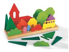 Puzzle 3d paisaje la unidad