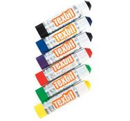 Pintura en barra para decorar tejidos Gouache lote de 6