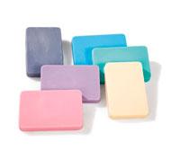 Jabones colores para moldear colores pastel lote de 6