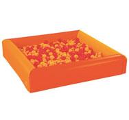 Maxilote de piscina de bolas bicolor + bolas el conjunto