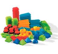 Juego de construcción bristle blocks lote de 112 piezas los 112