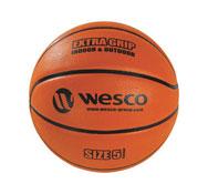 Balón de baloncesto extra agarre interior - exterior tamaño 5 la unidad