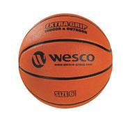 Balón de baloncesto extra agarre interior - exterior tamaño 6 la unidad