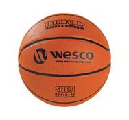 Balón de baloncesto extra agarre interior - exterior tamaño 7 la unidad